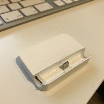 Apple iPhone 6, 6S, 7 Dock für 1,50 Euro (in 5 Minuten)